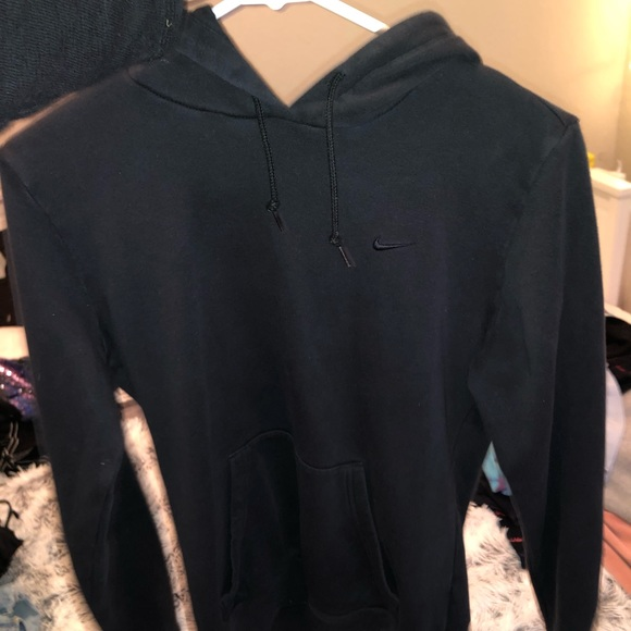 Nike Tops - black nike hoodie
